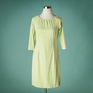 J McLaughlin S Green Catalina Geometric Dress